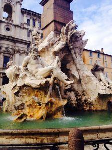 Palazzo Navona, Rome. Loved it here!