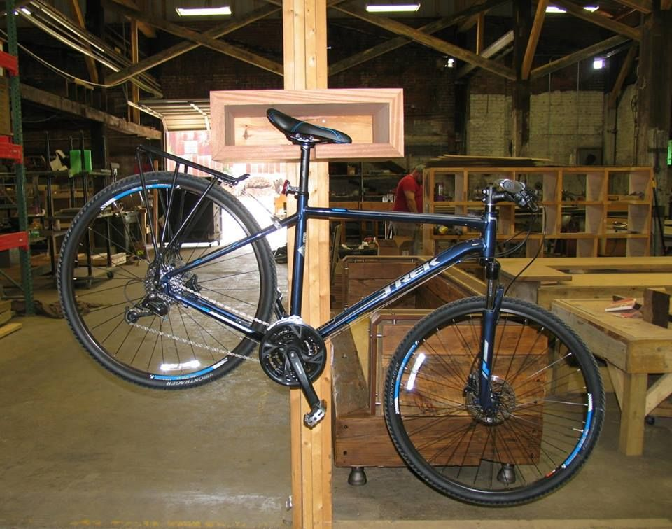 Industrial Farmhouse is now making bike racks! This unique architectural  bike rack is hand crafted 76e57f6d7