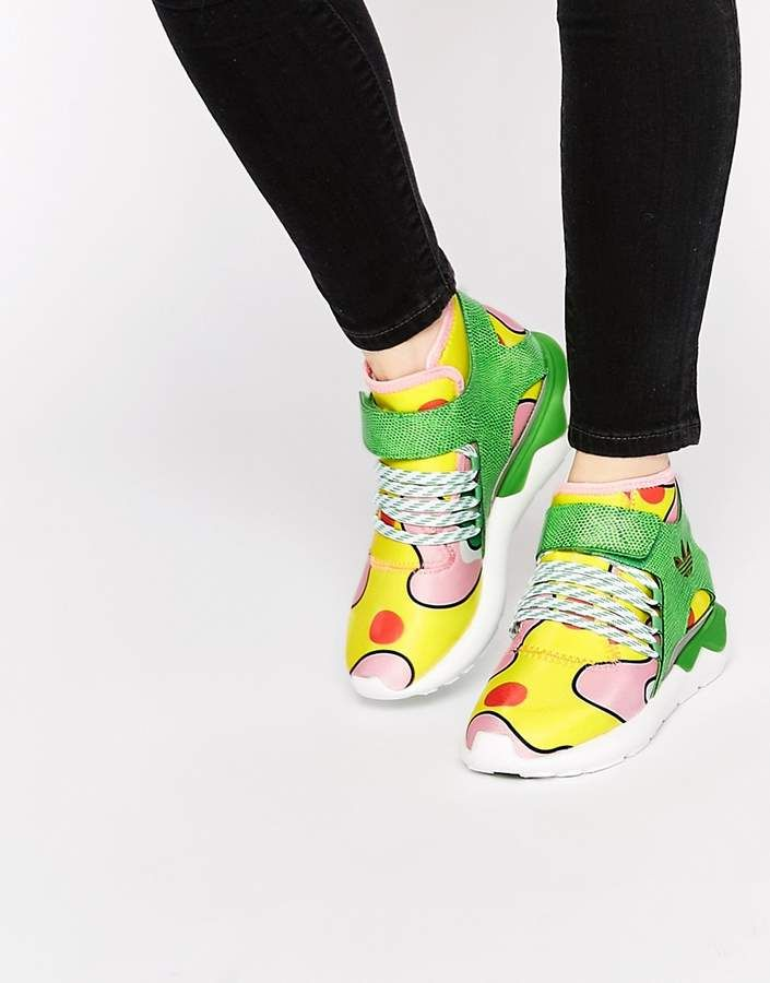 Adidas originali da jeremy scott tubulare floreale scarpe femminili