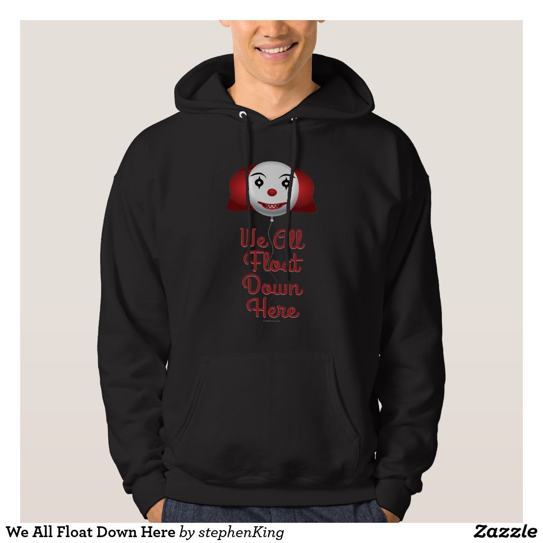 Movie Stephen King IT The Clown Pennywise Hoodies Halloween Cosplay Sweatshi ZH