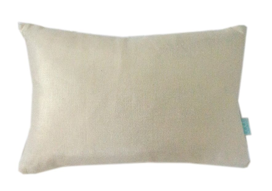 The GOLD NUGGET pillow by Joue Designs of Vancouver is made from a metallic linen blend fabric.