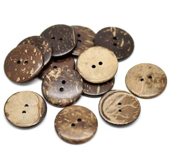 New Aran Buttons Large 25mm