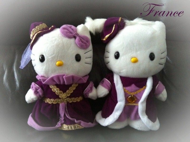 McDonald's Hello Kitty 2001 - King and Queen Plush