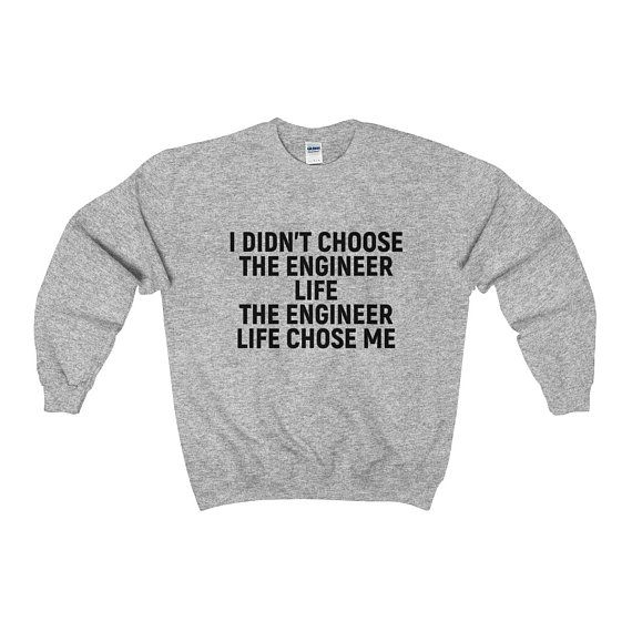 1f2f3499 ENGINEER GIFTS Gift for Engineers Mechanical Engineer Sweatshirt Electrical Engineering  Shirt Funny Civil Engineer Sweater by 22ndOfOctober
