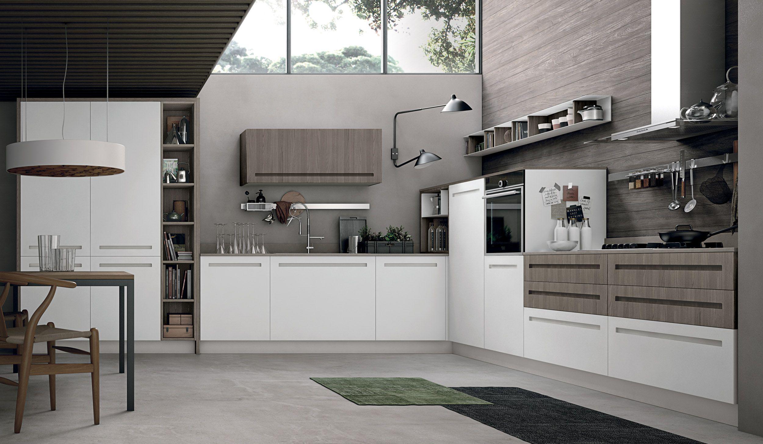 Stosa Cucine: arredamento per cucine moderne Mood | Arredamento ...