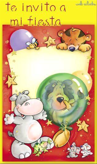 Postales Cumpleaños | Tarjetas de Felicitación | Fiesta Infantil