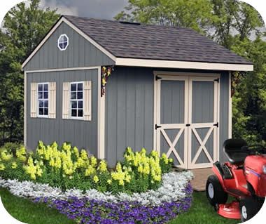 Northwood 10x10 Backyard Wood Storage Shed Kit Northwood 1010 Storage Shed Kits Wood Shed Kits Building A Shed