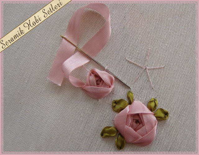 Pin By Jan Hood On Ribbon Embroidery Pinterest Ribbon Embroidery