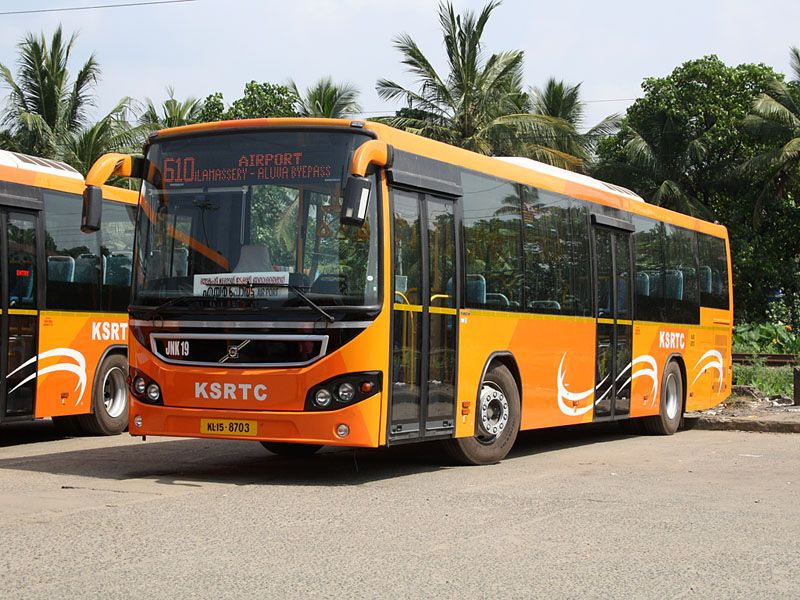 Volvo Bus In Kochi Kerala Bus India Source Wikipedia With