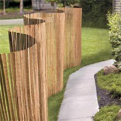 Garden Dividers | Privacy Garden Screens - Willow Fencing