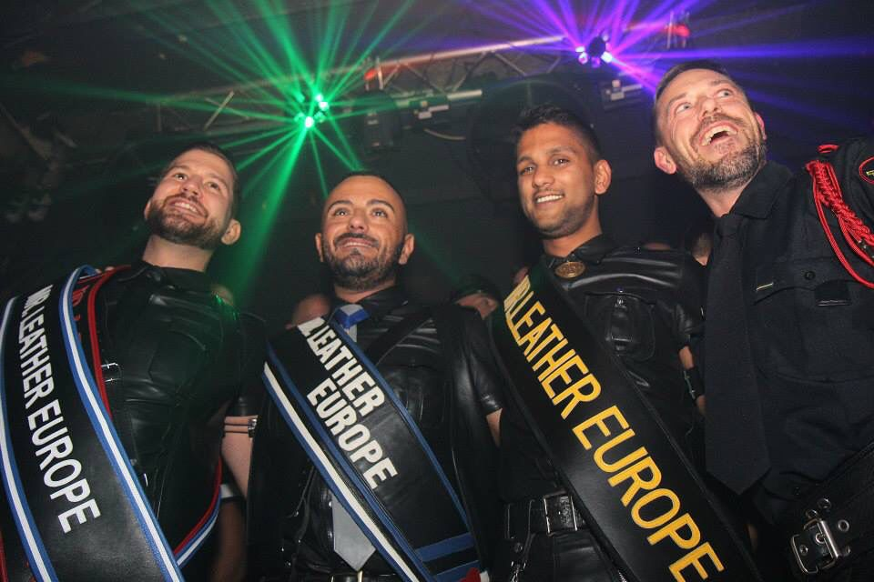 Well done guys Mr Leather Europe