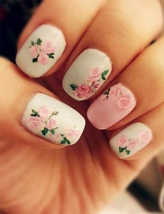 20 Floral Nails You Must Try For Spring In 2019 Flower