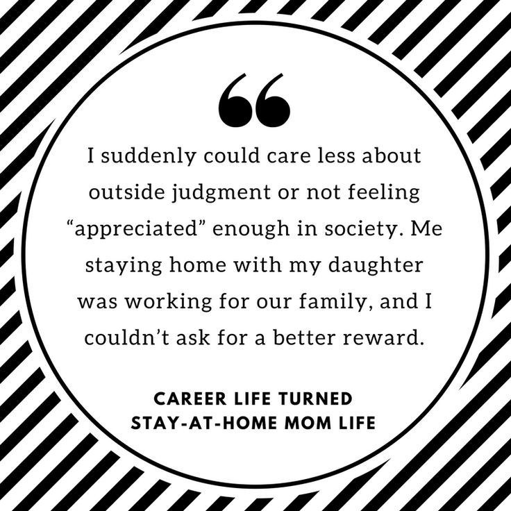 Coming to Terms With Life as a Stay-at-Home Mom | Change, Parents ...
