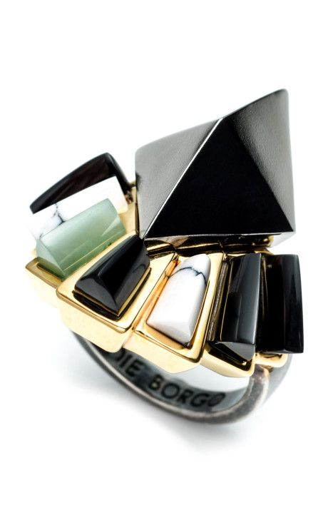 Horus Ring by Eddie Borgo for Preorder on Moda Operandi