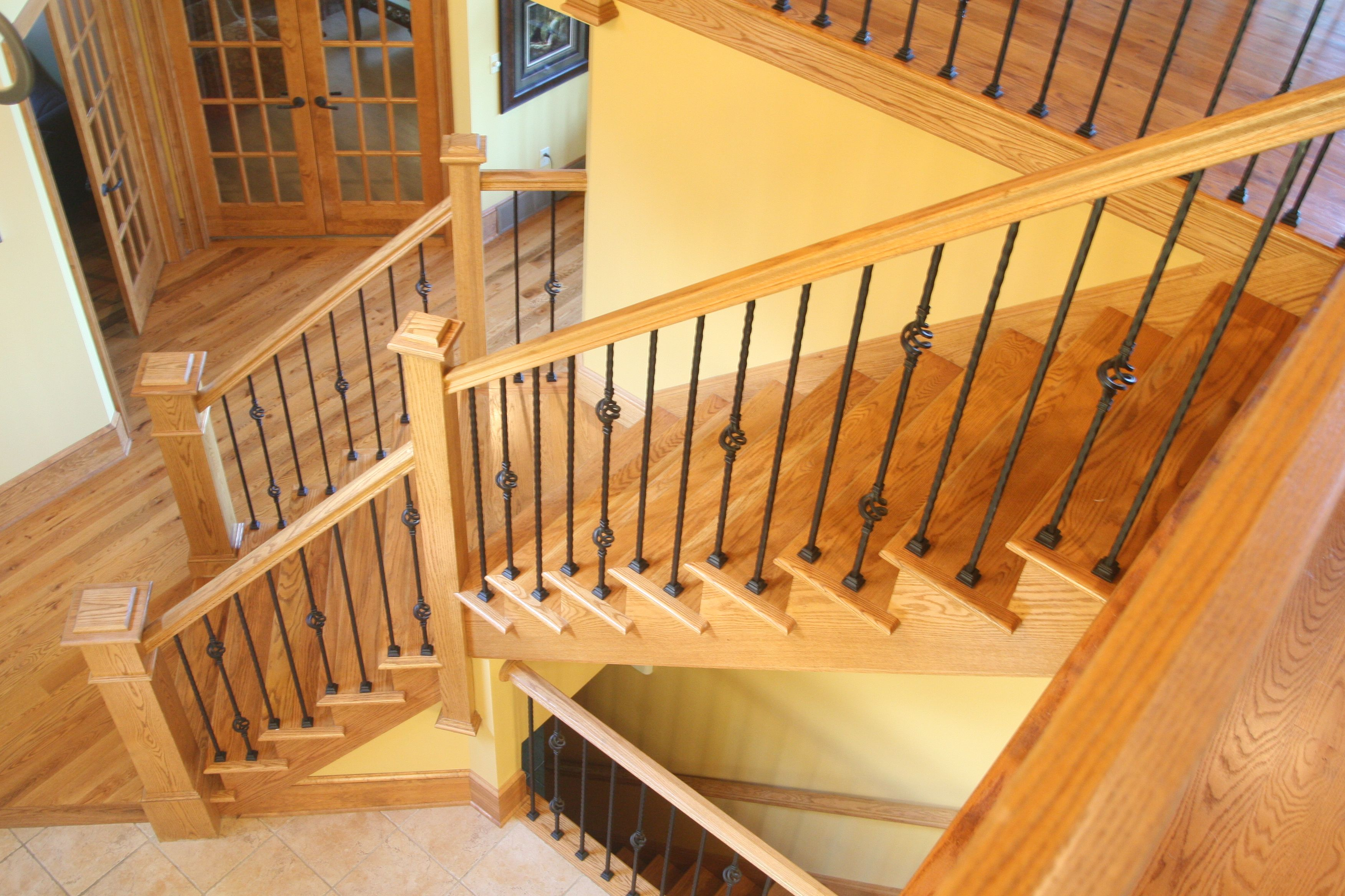 Bennett Stair Company Inc Home Staircase Design Stair Railing Design Wrought Iron Stair Railing