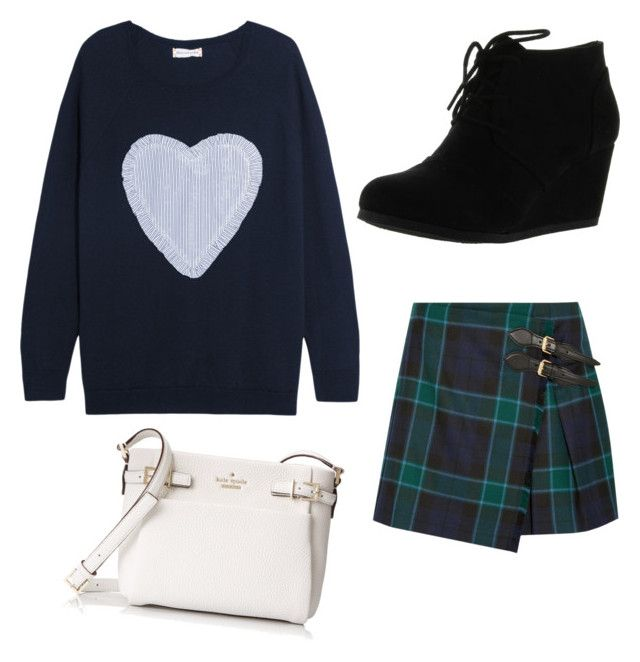 """""""Sweet girl"""" by ece-ergun on Polyvore featuring moda, Chinti and Parker, Burberry, City Classified ve Kate Spade"""