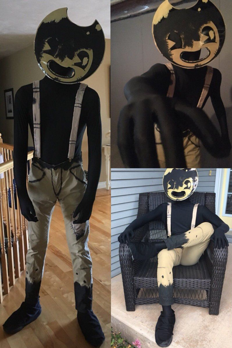 Sammy Lawrence cosplay Bendy and the ink machine, Manga