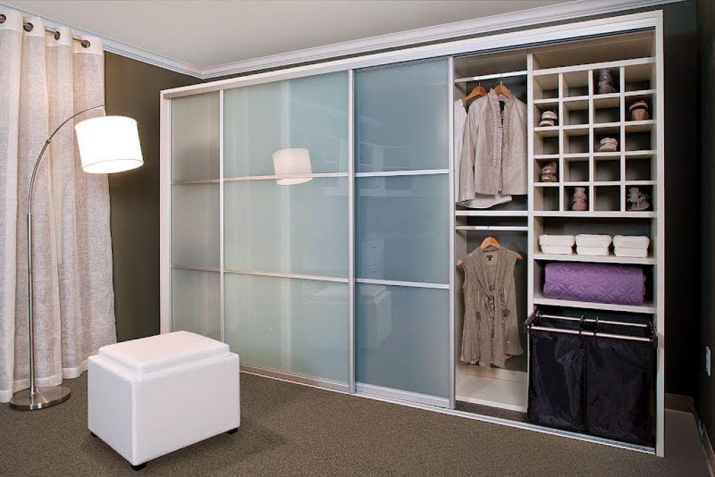 Modern House With Plexiglass Closet Doors Closet Doors Doors And