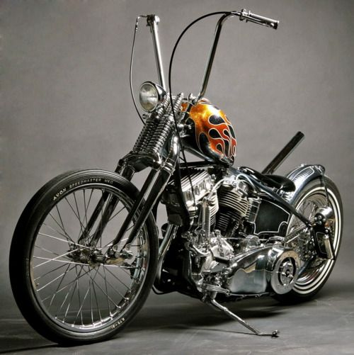 Ape Hangers, Springer Front end  Just needs the seat  | Bikes
