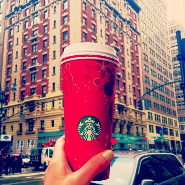 Holiday Cups, Gingerbread Latte