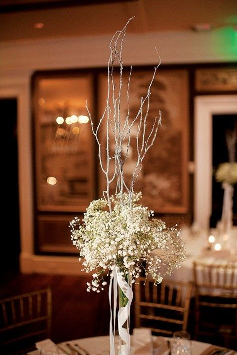 90 Inspiring Winter Wedding Centerpieces You Ll Love Winter Wedding Centerpieces Winter Wedding Wedding Centerpieces