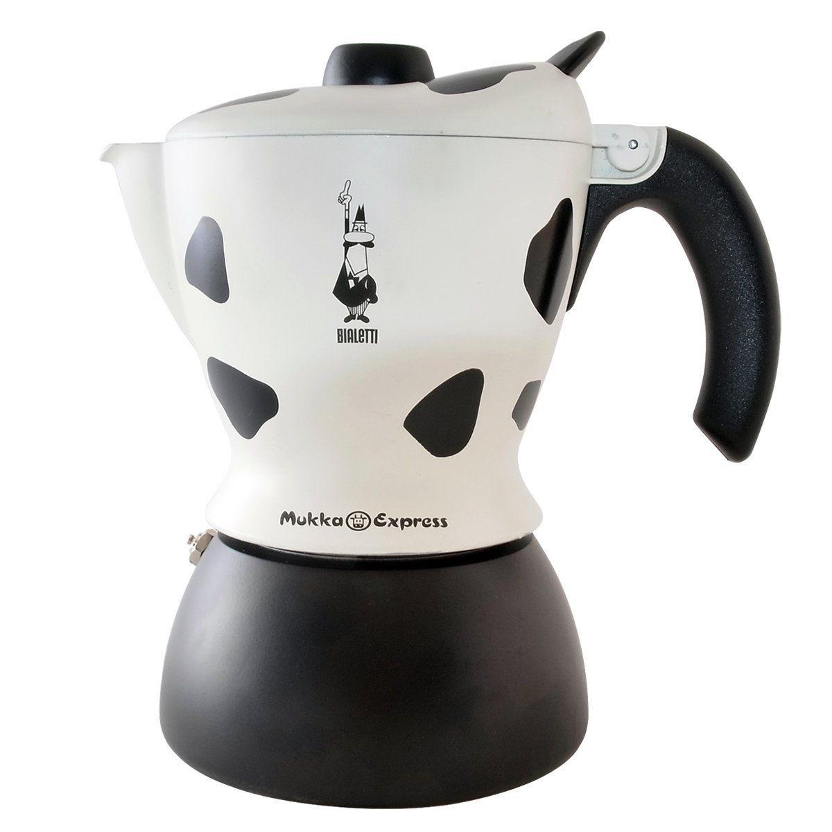 Bialetti Mukka Express 0103238 Preparation Cappucino ou Cafe au lait Coloris Vache