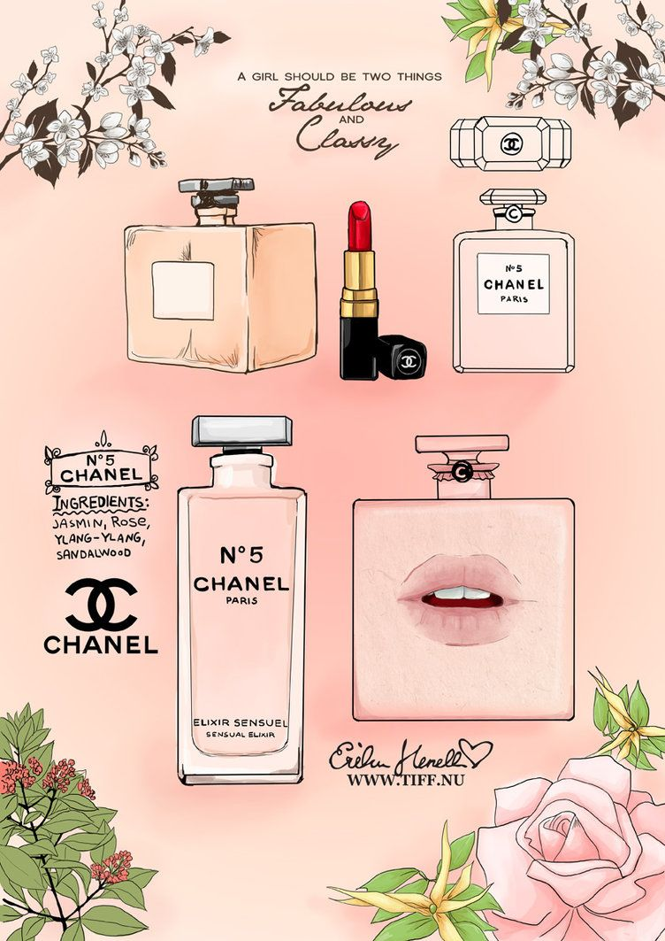 chanel no 5 by peterpan syndrome on deviantart parfum illustrationen pinterest parf m. Black Bedroom Furniture Sets. Home Design Ideas