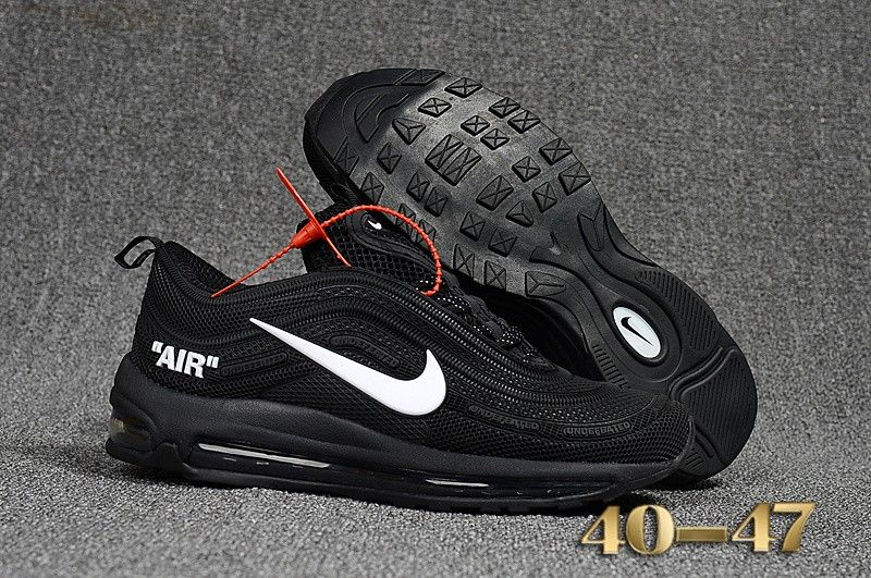 a1b71b9a9f Mens Nike Air Max 97 Off White X Shoes Black White,Off-White Shoes Sale  Online