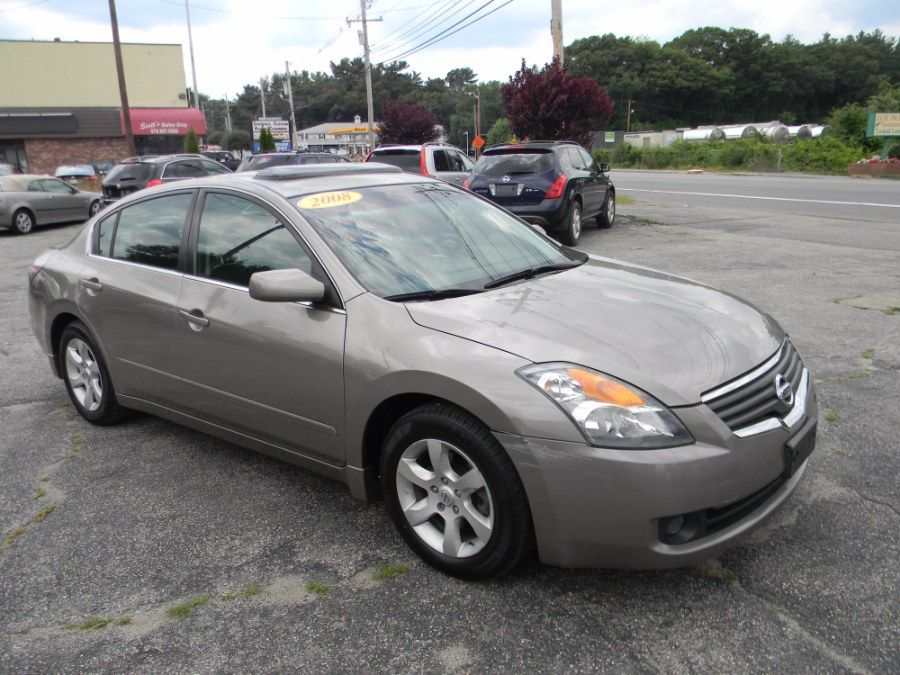 Precision Grey Metallic 2008 Nissan Altima 4dr Sdn I4 Cvt 2 5 Sl Billerica Nissan Altima Altima Car Dealer