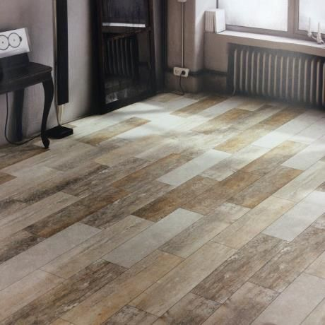 Darwin Driftwood Porcelain Wood Effect Floor Tiles 220 X