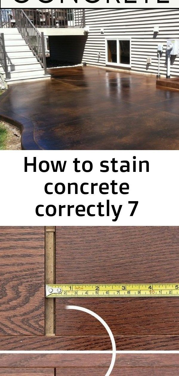 How to stain concrete correctly 7 #summerhomeorganization Learn how to stain concrete correctly! Take a DIY summer project and make it beautiful with these great tips and steps! Learn how to fix floating floor gaps with a simple and inexpensive DIY floor gap fixer! Why pay $60 when you can make one for just a few bucks!  Organize your fridge creatively with these fantastic organization hacks! These fridge organization ideas are so clever! #organization #summerhomeorganization