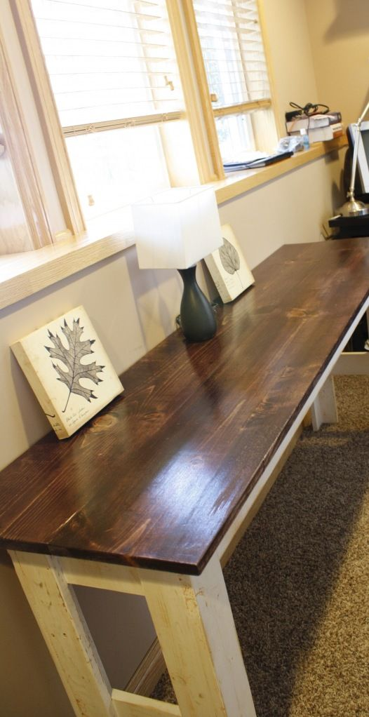 Do It Yourself Home Design: Build A Table :: Or Coffee Table? Would Look Good With