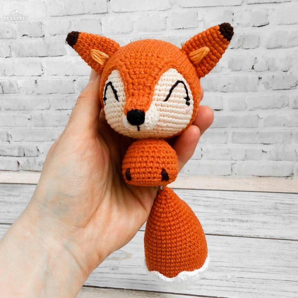 Amigurumi fox crochet pattern   1024x1024