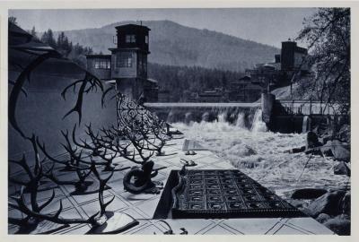 John Stezaker, The Bridge XXIV, from the series Castle 2008 (collage)