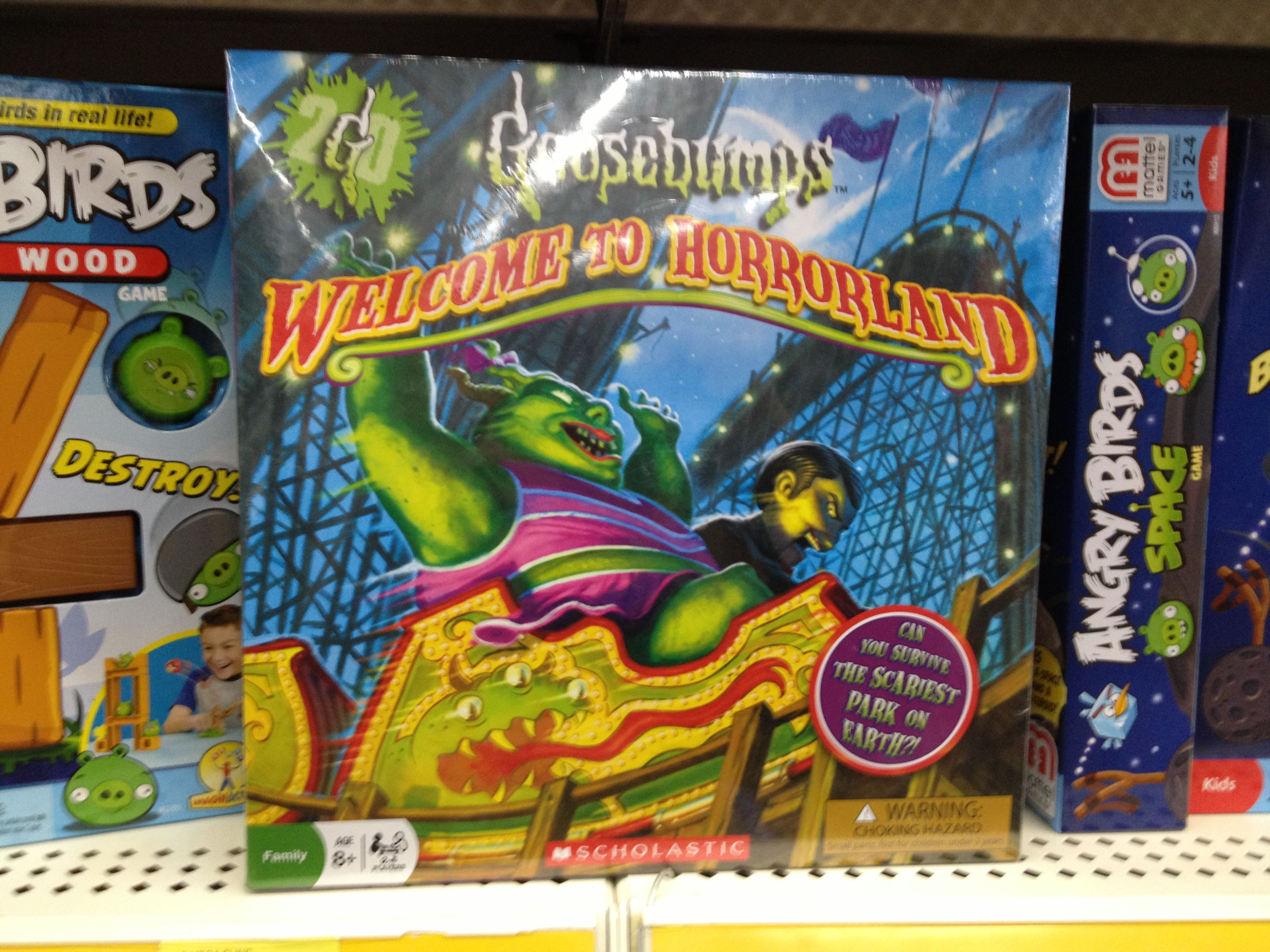 Goosebumps to Horrorland Board Game 90s kids