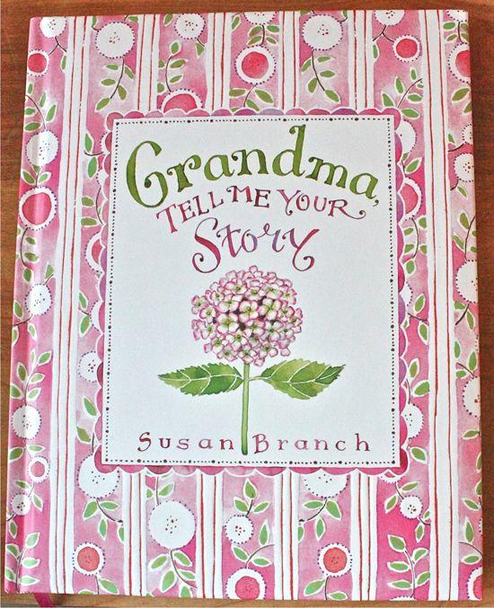 keepsake book called grandma