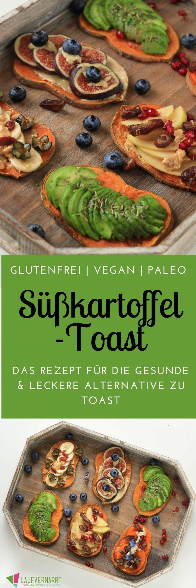 Toast di patate dolci – l'alternativa salutare e senza glutine al toast – appassionato di corsa