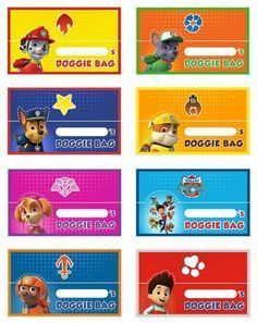 Make Your Own Paw Patrol Character : patrol, character, Patrol, Goody, Invitations,, Birthday,, Party