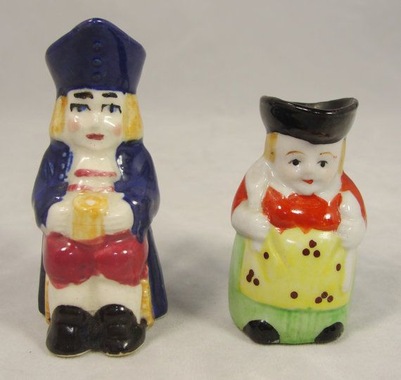 Vintage Lot 2 Miniature Toby Jug Pitchers by MileHiVintageandMore