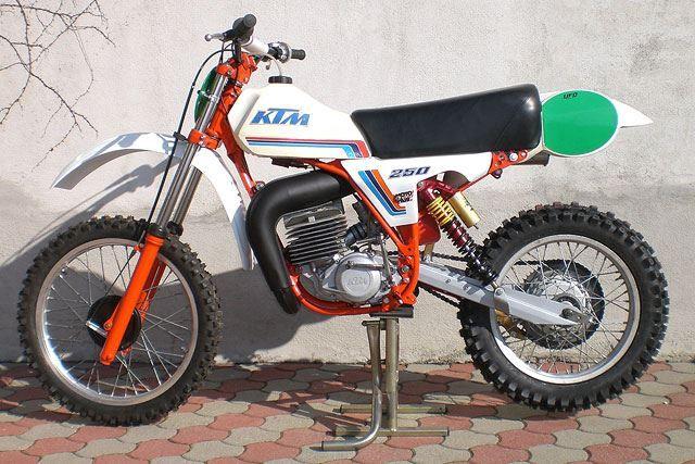 1982 Ktm 250 Ktm Motorcycle Dirt Bike Vintage Bikes