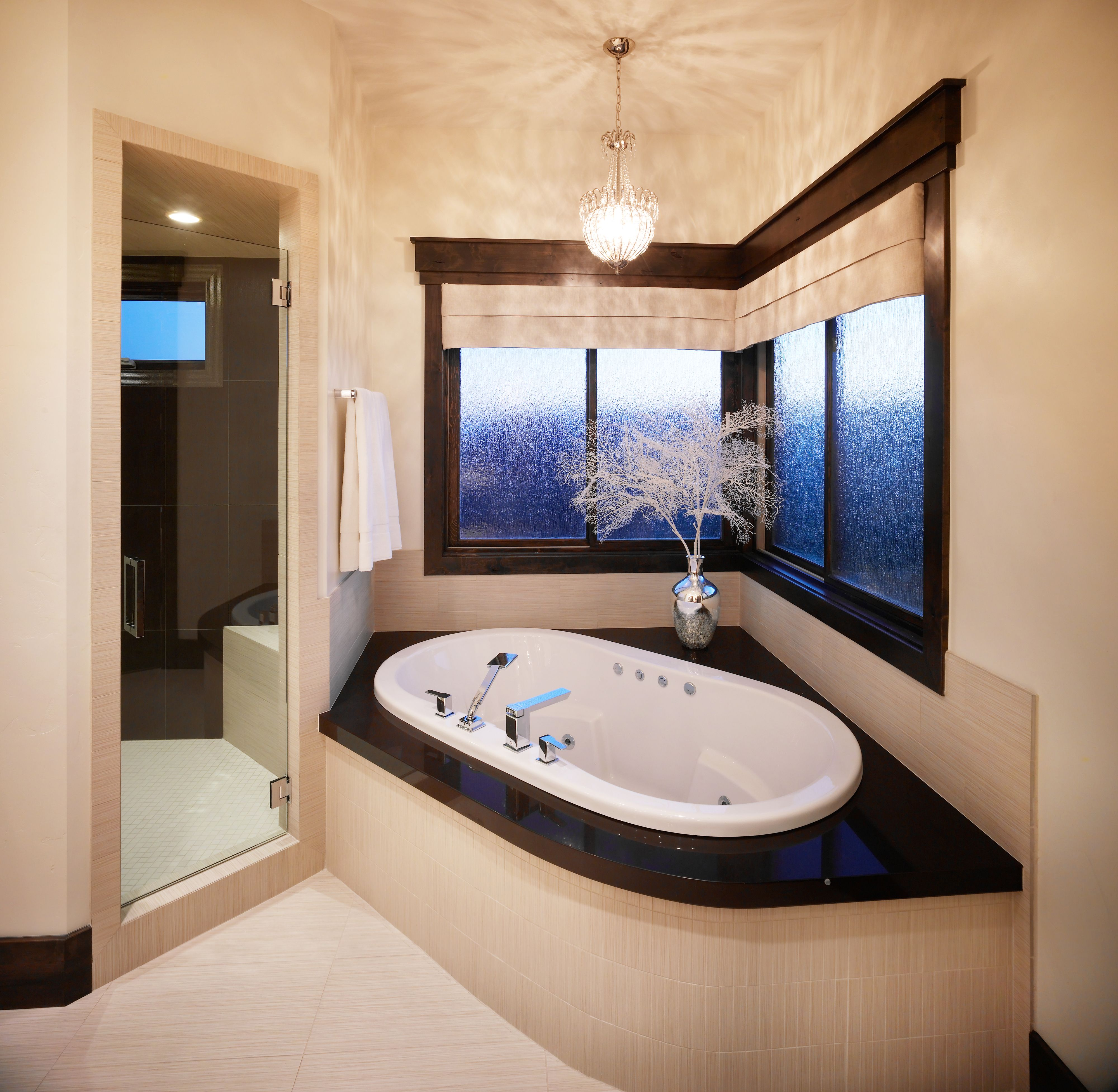 simple elegant master bathroom tile masterbathroom
