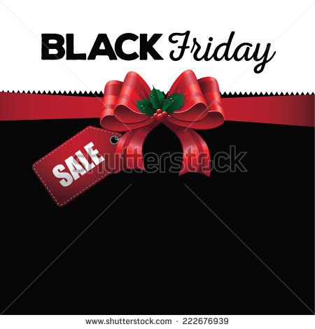 Black Friday sale background EPS 10 vector - stock vector