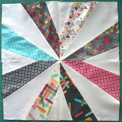 Crazy Star Quilt Block Tutorial by Rashida Coleman-Hale of i heart ... : crazy star quilt pattern - Adamdwight.com