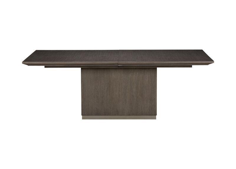 Brycemoor Rectangular Pedestal Dining Table Rectangle Dining