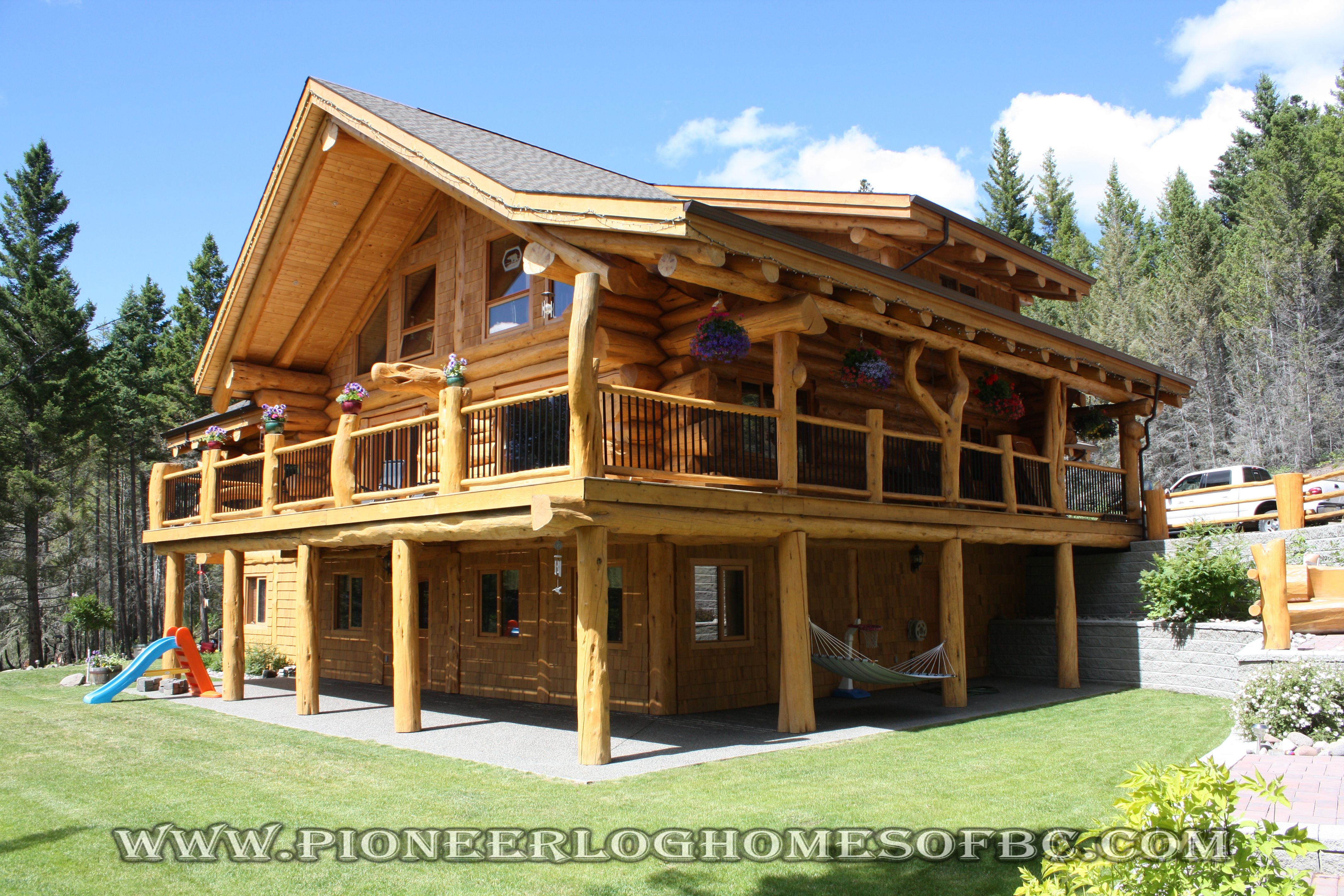Custom Log Homes Picture Gallery Log Cabin Homes Pictures Bc Canada Log Homes Log Cabin Homes Log Home Plans