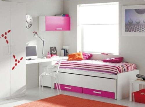 Dormitorio juvenil peque o dormitorios ni os as - Decoracion de habitaciones para jovenes ...