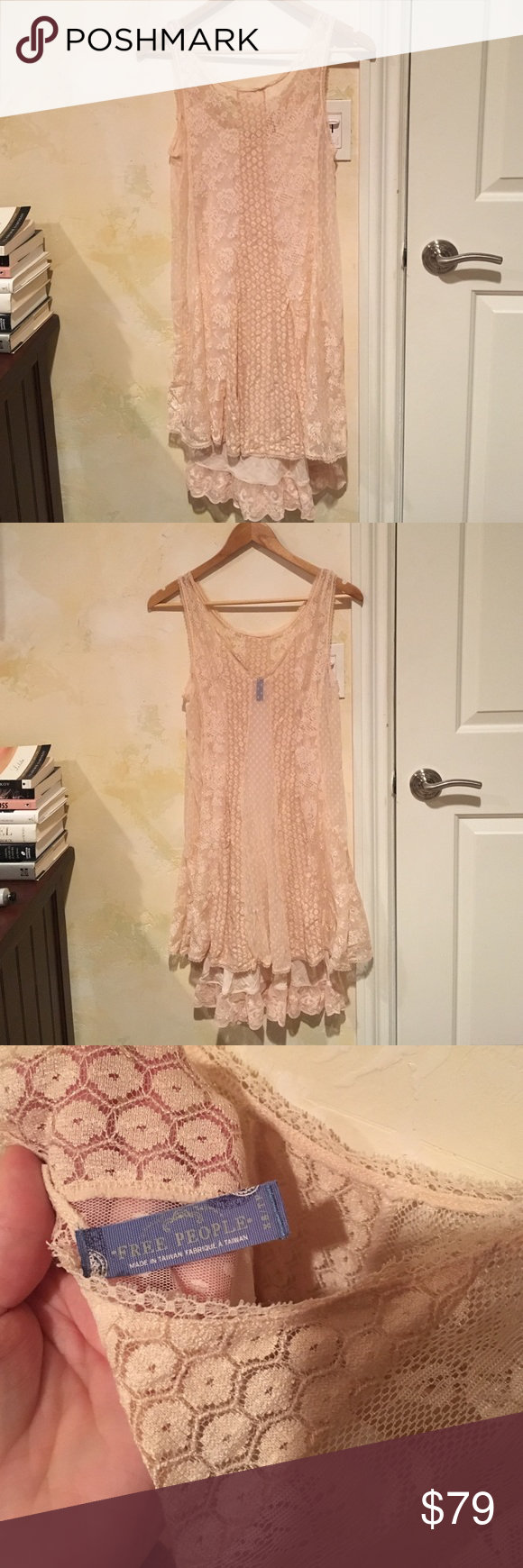 Free People Blush Colored Dress Xs Women S Feminine And Romantic  # Muebles Rodilla