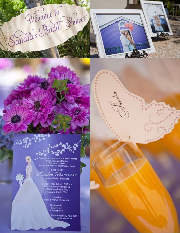 butterfly bridal shower