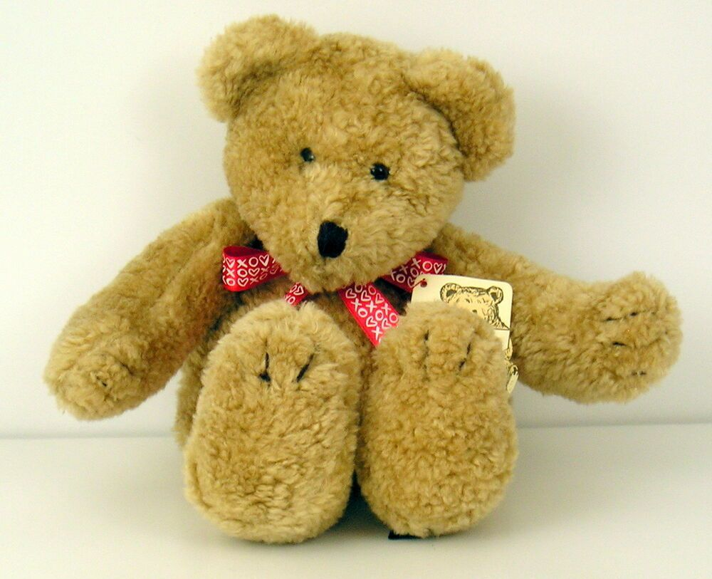 Vtg 90 S Boyds Bears In The Attic Plush Bear 11 Golden Brown Valentines Day Boyds Bear Plush Boyds Bears Plush