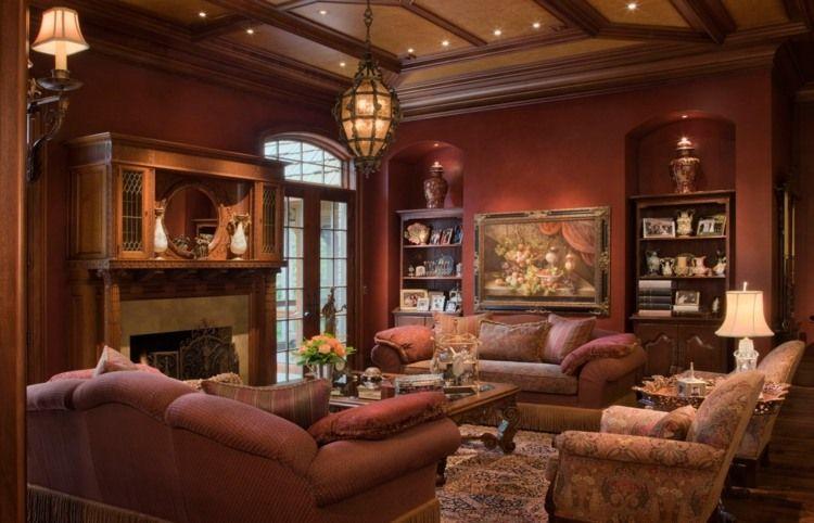 salon d co style victorien moderne en 48 id es victorians art pinterest salon d co salon. Black Bedroom Furniture Sets. Home Design Ideas